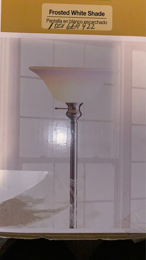 Floor lamp brushed Knickle by Hampton bay for Sale in Concord, CA