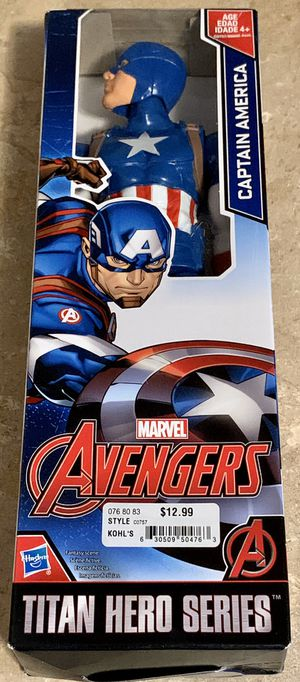 Marvel Avengers Titan Hero Series Captain America New In Box for Sale in North Ridgeville, OH