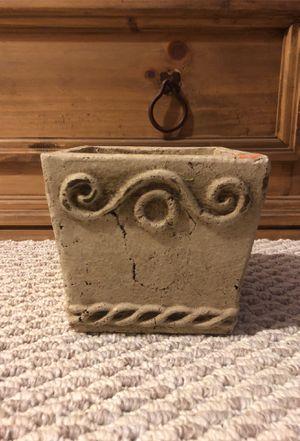 Stone planting pot for Sale in Springfield, VA