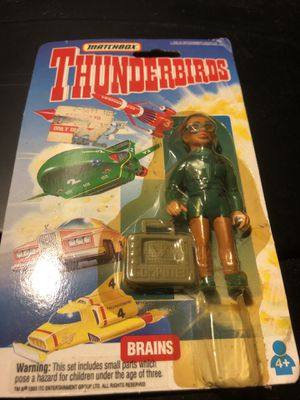 Thunderbirds Brains action figure for Sale in Clinton, MD