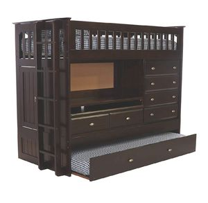Mor Furniture double bed w desk and drawer set for Sale in San Diego, CA