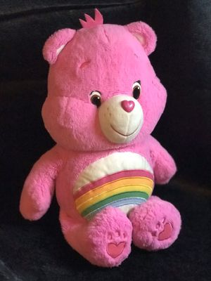 Large 24 inch Carebear! Pink! for Sale in Savannah, GA