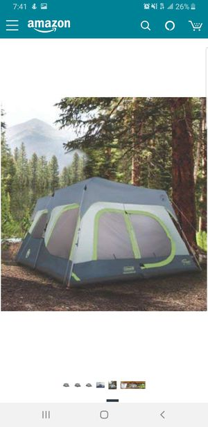 Coleman 10 person instant tent for Sale in Los Angeles, CA