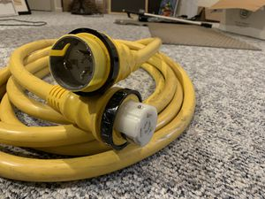 25 ft- Marinco 50 Amp 125/250V power chord plus for Sale in Chicago, IL