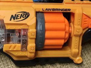 Nerf Lawbringer Preowned great gun!! for Sale in Fort Myers, FL