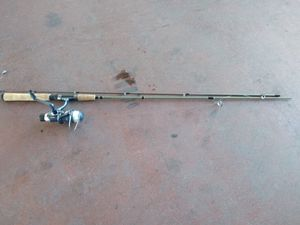 Shakespeare reel & rod combo and a Berkeley big game rod with a ozarc trail open face reel and an Xtra Roy Williams Sears reel, like new all of it. for Sale in Phoenix, AZ