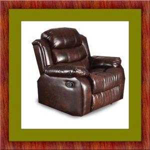 Burgundy recliner chair free delivery for Sale in Alexandria, VA