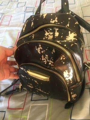 Steve Madden Black Splatter Small Backpack Purse for Sale in Inglewood, CA