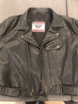 First Gear Indian Chief leather motorcycle jacket for Sale in Plantation, FL