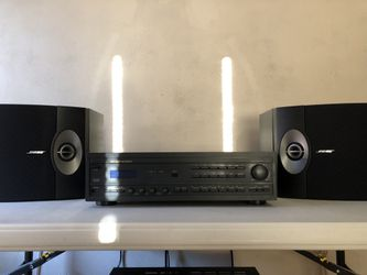 Bose 301 series 5 + marantz receiver for Sale in St. Louis,  MO