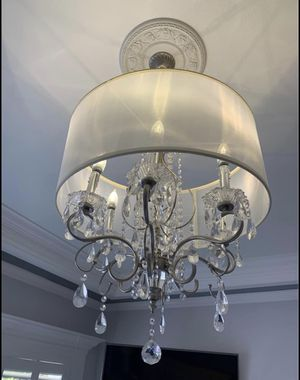 """Drum chandelier 21"""" W / ceiling fixture / light fixture for Sale in Tacoma, WA"""