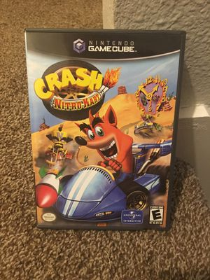 Crash Nitro Kart Nintendo GameCube for Sale in San Antonio, TX