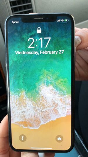 Sprint IPhone 10 X 64g for Sale in Wheat Ridge, CO