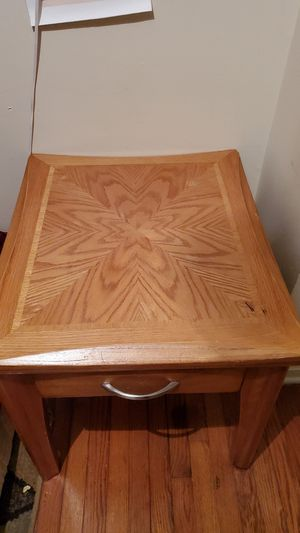 Wood side table for Sale in Cary, NC
