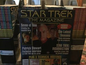 STAR TREK THE MAGAZINE for Sale in Whittier, CA