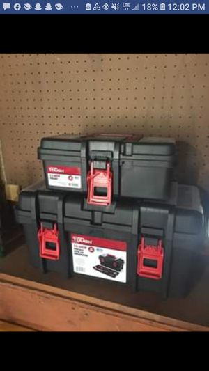 Three new tool boxes ranging sizes package deal for Sale in Columbia, CT