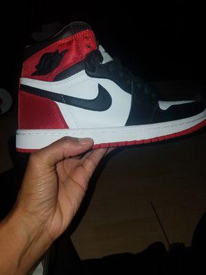 Jordan Satin Black toe for Sale in San Gabriel, CA