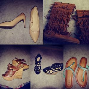 Wedges, boots, sandals and heels. for Sale in Grove City, OH