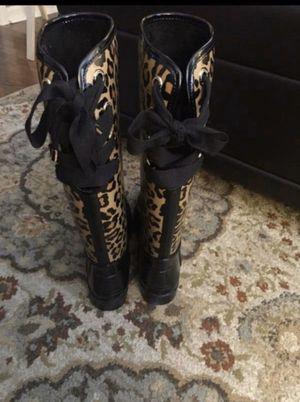 Coach Rain Boots for Sale in Winston-Salem, NC
