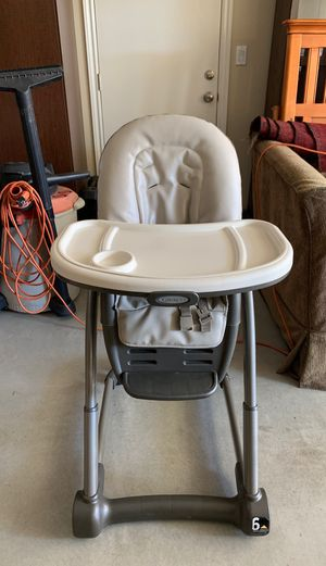 High chair with booster seat for Sale in Riverside, CA