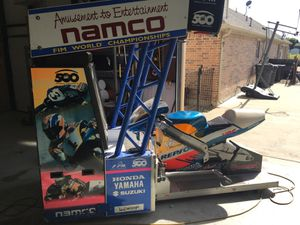 Namco GP500 motorcycle racing arcade game for Sale in Arlington, TX