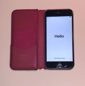 Apple iPhone 6 - 64GB - Gray (Unlocked) Attached to Original Louis Vuitton Case for Sale in Orlando, FL