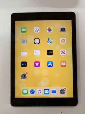Ipad Air 1st gen 9.7 inch 32GB wifi - $140 firm price for Sale in Renton, WA