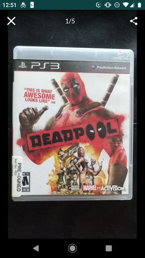 Deadpool PS3 for Sale in Los Angeles, CA