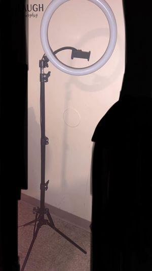 "12"" selfie LED ring light for Sale in Hartford, CT"