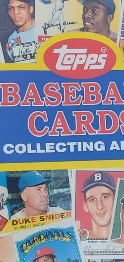 Baseball Card Folder for Sale in Claremont,  CA