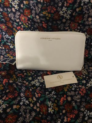 Brand new white wallet with small marking on the back (never used) for Sale in Atlanta, GA