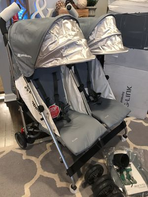 New Uppababy g link double stroller for Sale in Columbus, OH