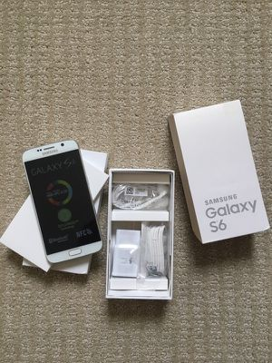 AT&T Samsung galaxy s6 white 32Gb NEW for Sale in Fairfax, VA