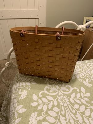 Longaberger boardwalk basket for Sale in Long Beach, CA