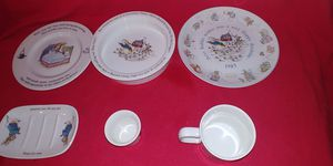 6 Pieces of the Peter Rabbit Collection from Wedgewood/England for Sale in Georgetown, TX