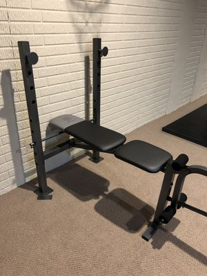 Gold's Gym weight bench for Sale in Shawnee Hills, OH