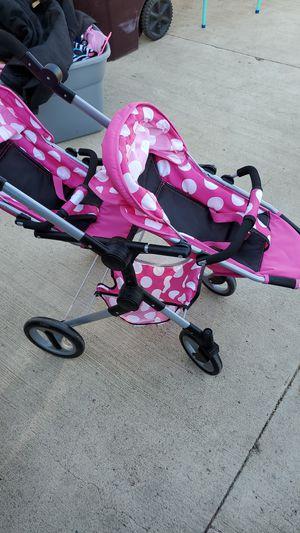 Lissie dolls double doll stroller for Sale in Riverside, CA