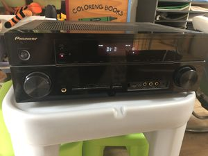 Pioneer Audio/Video Multichannel Receiver with 4 Polk Audio Speakers for Sale in Beaverton, OR