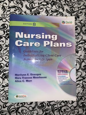 Nursing Care Plan: Guidelines for Individualizing Client Care Across the Life Span for Sale in Hialeah, FL