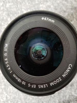 canon camera lense for Sale in Escondido, CA