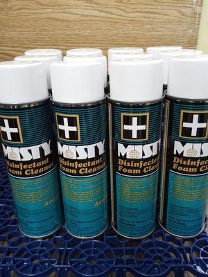 12pk Misty Disinfectant Foam Cleaner 19oz for Sale in Seattle, WA