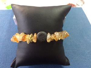 Aromatherapy Citrine Stretch Bracelet for Sale in Miami, FL