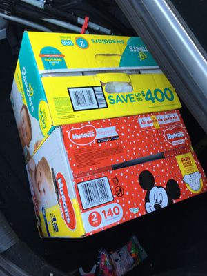 Pampers (Huggies and Pampers) for Sale in Plano, TX
