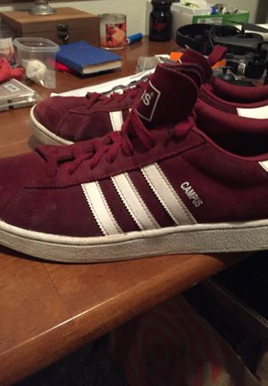 Campus burgundy adidas men's 11 for Sale in Seattle, WA