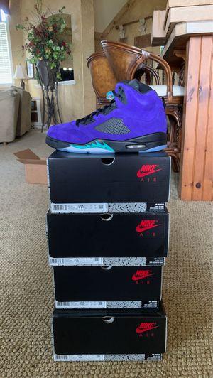 Jordan 5 Retro Alternate Grape Size 13, 10.5 and 11.5 for Sale in Golden Oak, FL
