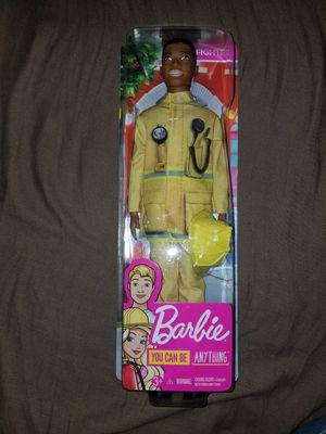 Barbie firefighter ken for Sale in Fresno, CA