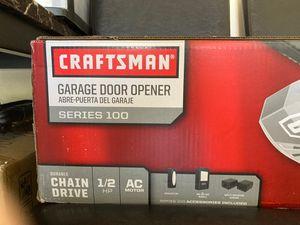 Brand New Craftsman Series 100 Garage Door Opener for Sale in Las Vegas, NV