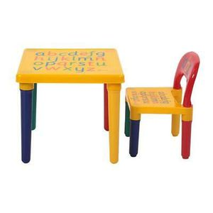 Desk Chair Kids Table Set Play Study Children Activity Furniture Home Use for Sale in Los Angeles, CA