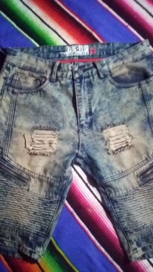 GS - 115 jean shorts designer style for Sale in San Diego, CA