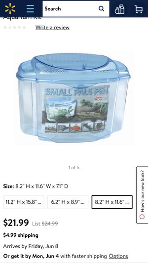 small fish tank for Sale in Denver, CO